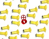 Venom Blowguns 40 Cal Blowgun Super Stunners Darts - 25 Pack with HIGH Visibility RED Peep Sight