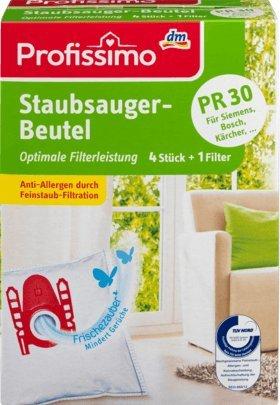 Profissimo Staubsaugerbeutel PR30, 1 Packung mit 4 Stück