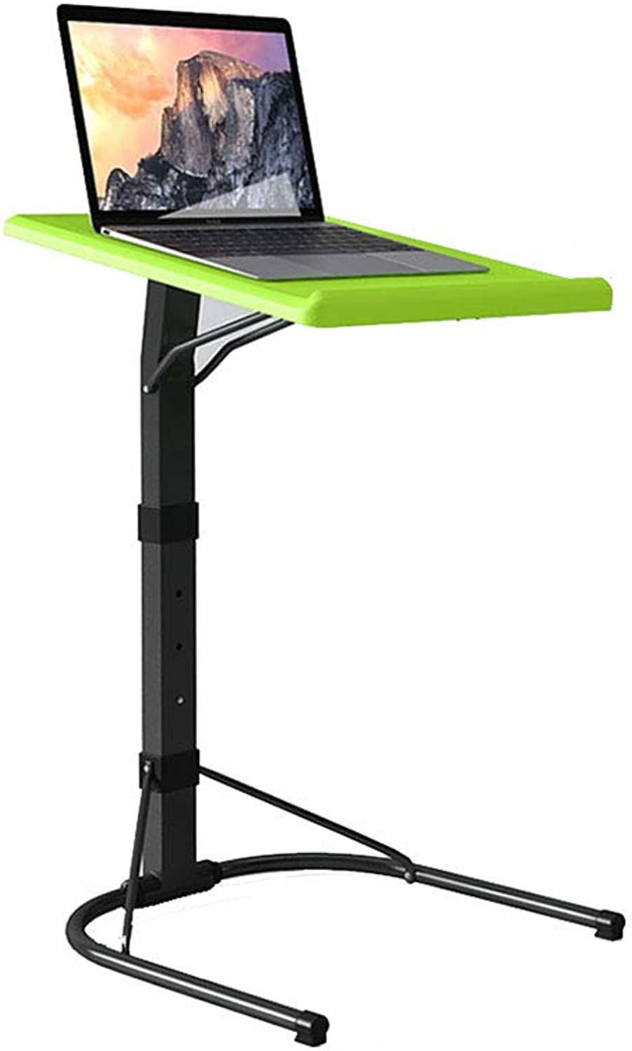 Djyyh Bed Lazy Table Laptop Table Folding Lift Removable Desk Sofa Table Bedside Table Adjustable Height and Table Angle