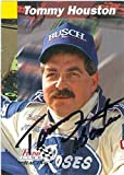 Tommy Houston autographed Trading Card (Auto Racing) Finish Line #163 - Autographed NASCAR Cards
