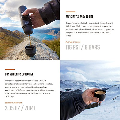 Minipresso Espresso-Maschine to Go - 3