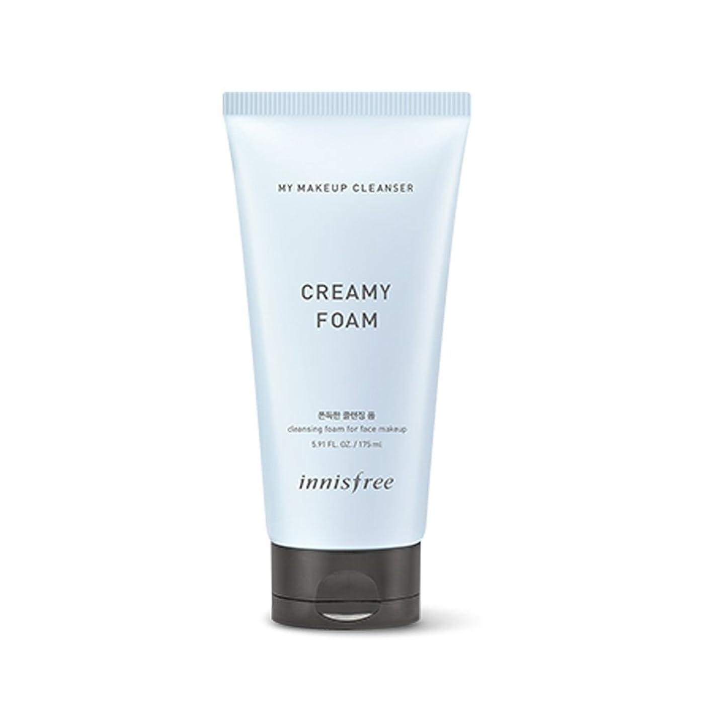 暗い器用魂イニスフリーマイメイクアップクレンザー - クリームフォーム175ml Innisfree My Makeup Cleanser - Creamy Form 175ml [海外直送品][並行輸入品]