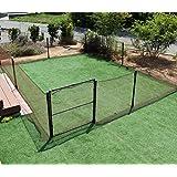 DAIM ドア付ドッグランセット(高さ90cm) お庭を囲むことができるロングサイズです。 愛犬のドッグランはもちろん、小動物の侵入防止にも使えます! (本体 ドア)