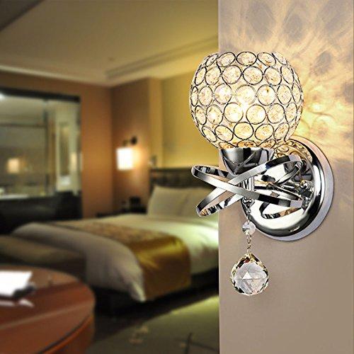 Lampe 19904aus Kristallglas Moderne Sockel E14Für Dekoration Schlafzimmer Treppe Sallon Hotel