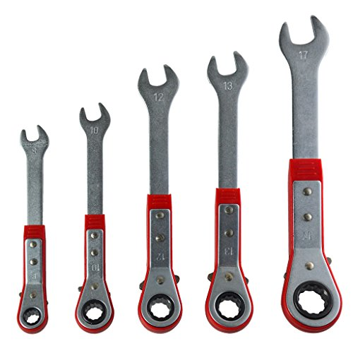 Best Value Metric Ratcheting Reversible Combination Wrench Set (5-Piece).