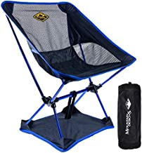 Camping Chair by Mountain Designs - Camping Chairs for Adults and Kids Camping Chair - Lightweight Polyester Portable Chair Supports 270 lb. - Camping Accessories or Camping Gear by Mountain Designs