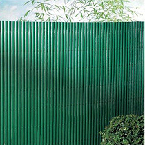 PEGANE Canisse en PVC Double Face en Rouleau Coloris Vert, 1,50m x 3m