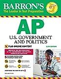 Barron's AP U.S. Government and Politics, 11th Edition: With Bonus Online Tests (Barron's Test Prep)