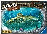 Ravensburger - Calendrier de l'avent 2021 Escape - Mystère au fond des mers - 24 cases avant Noël - Jeu d'énigmes et d'escape game - Fille ou garçon dès 10 ans - Version française - 20009