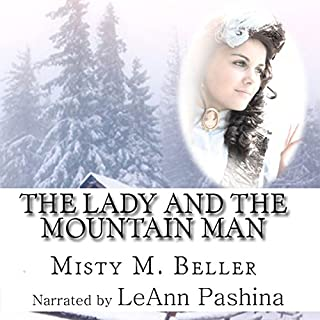 The Lady and the Mountain Man audiobook cover art