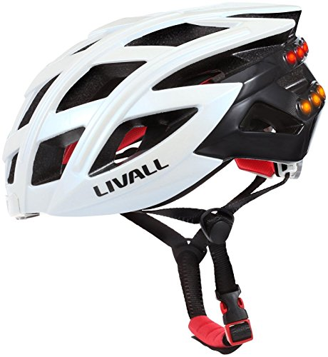 LIVALL BH60 Bling Helmet with Bling Jet Controller, White