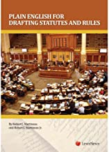 Plain English for Drafting Statutes and Rules (2012)