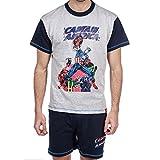 Pyjama Short Captain América XL