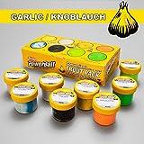 BerkleyPowerbait Garlic Trout Scent Glitter Pack - 8 Farben Forelle