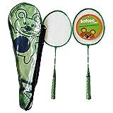 Softee Equipment 0006150 Juego Raquetas, Blanco, S