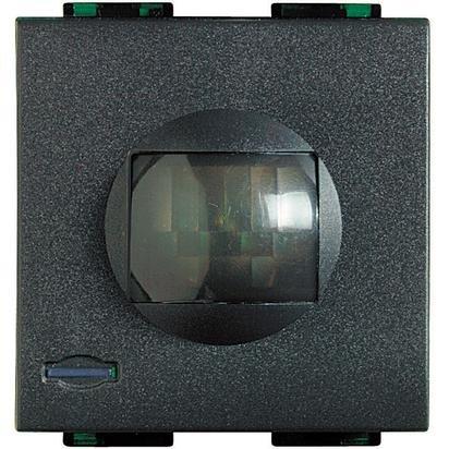 bticino l4610Detector volumétrico de Presencia Living Light de Rayos Infrarrojos pasivos con Nivel de SENSIBILIDAD Ajustable (Alcance 3÷ 9Metros) 27vdc