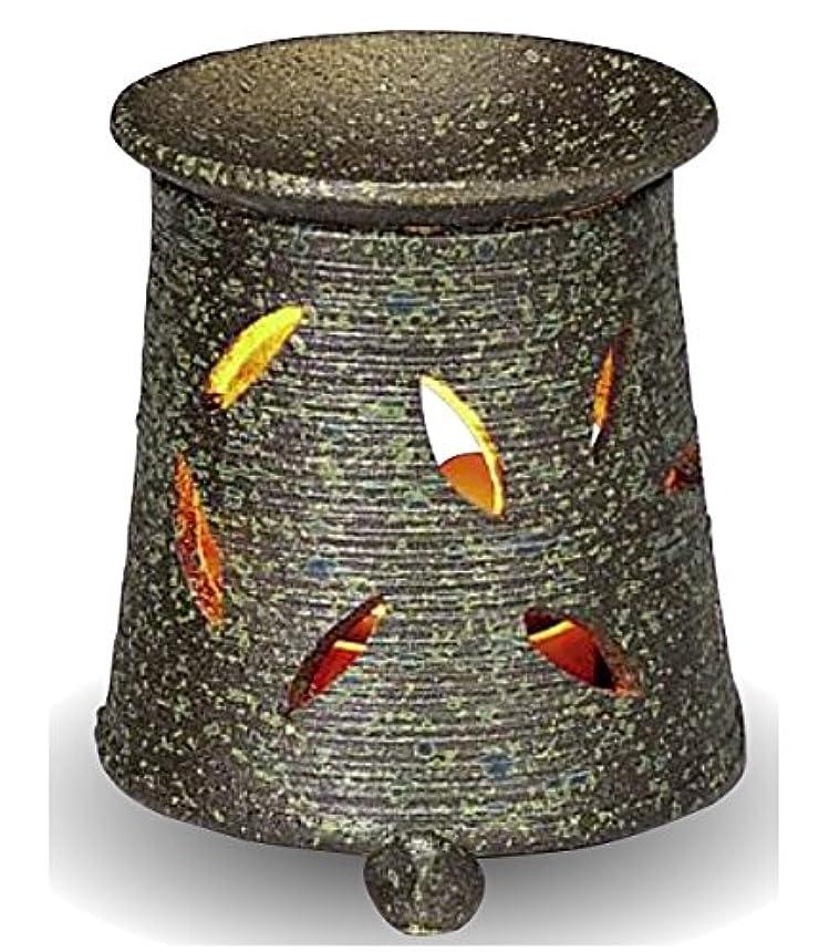 模索統計硫黄常滑焼 茶香炉(アロマポット)径9.5×高さ10.5cm