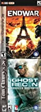 Tom Clancy 2 Pack! Ghost Recon: Advanced WarFighter + End War