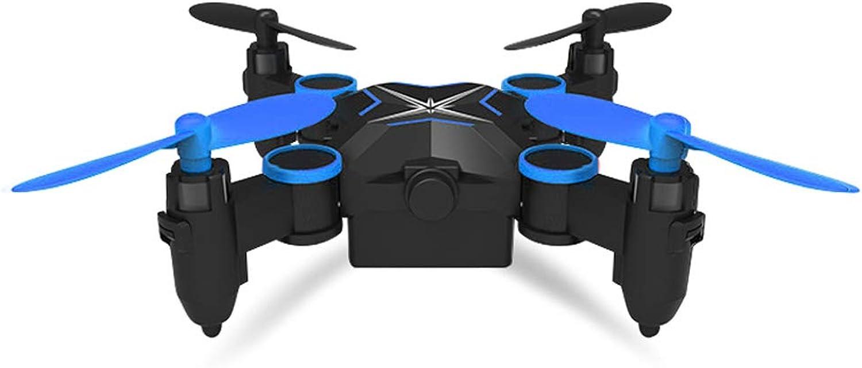 AB drone LJWRJ Drohne [Mini] Fernbedienung Flugzeuge Luftaufnahme HD vierachsige Flugzeuge Aufladen Junge Spielzeug - Keine Luftaufnahmen - Himmelblau