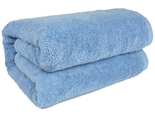 SALBAKOS 40'x80' Turkish Cotton Bath Sheet, Luxury, Eco-Friendly Oversized - Extra Large Bath Towels - XL, Toallas De Baño | Bano Grandes (40x80, Black)