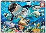 Educa- Selfies: Bajo el Agua Puzzle, 500 Piezas, Multicolor (17647)