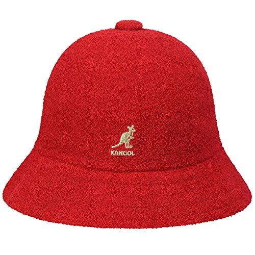 Kangol Men's Headwear Kangol Herren Bermuda Casual Fischerhut, scharlachrot, X-Large