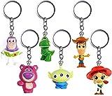 Nesloonp Llavero de Toy Story 4, juguete para niños y adultos, juguete para regalo, llavero, llavero para el coche