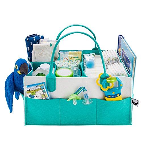 Baby Diaper Caddy Organizer - Gift...