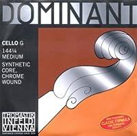 CUERDA VIOLONCELLO - Thomastik (Dominant 144) (Metal/Cromo) 3ェ Medium Cello 1/4 (G) Sol (Una Unidad)