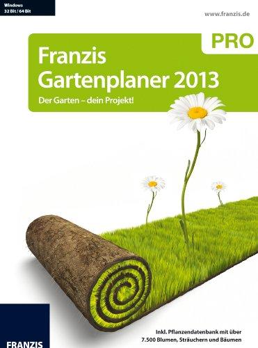 Preisvergleich Produktbild Franzis Gartenplaner 2013 Pro - Der Garten,  dein Projekt!