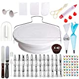 [205 pcs] Cake Decorating Supplies - Professional Cupcake Decorating Kit | Baking Supplies |...