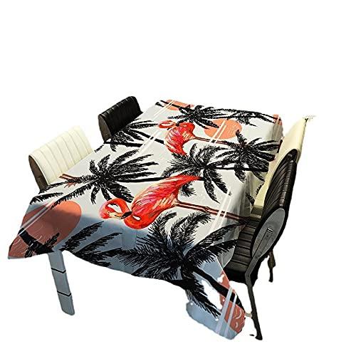 Csuper Mantel Impreso Digital Rosa Moda para El Hogar Animal De Dibujos Animados Mantel De Poliéster Mesa De Hotel Estera De Picnic Al Aire Libre