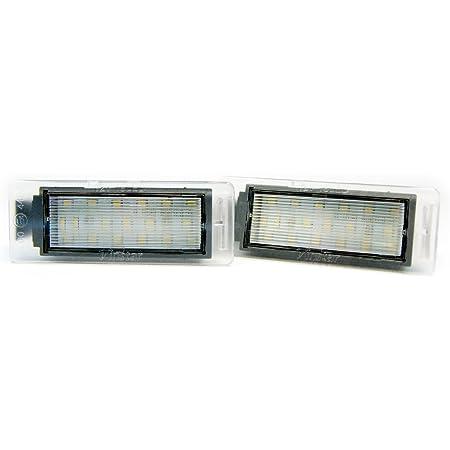 2 X Led Kennzeichenbeleuchtung Xenon Leuchte Kennzeichen Beleuchtung 6000k Auto