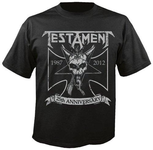 Testament - Anniversary - T-Shirt Größe S