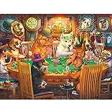 Challenge Chocolate - Puzzle 500/1000/1500/2000/3000/4000/5000/6000 piezas para adultos niños rompecabezas Venecia colorido león 0112 (color: D, tamaño: 6000 piezas)