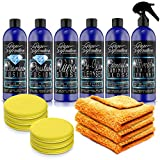 Pure Definition Car Polish Wax Kit, Ultimate Mirror Finish Polishes and High Gloss