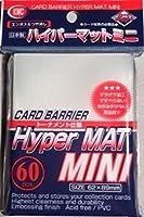 KMC Sleeves MHM1577 Deck Protectors Mini Hyper Clear, Pack - 60