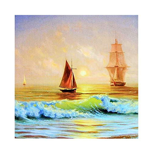 5D Diamond Painting for Adults & Children, Animal Landscape DIY 5D Diamond Painting Embroidery Creative Gifts Living Room Hanging Pictures Wall Decoration
