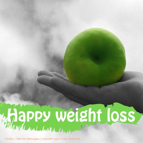 Lose Weight Happily audiobook cover art