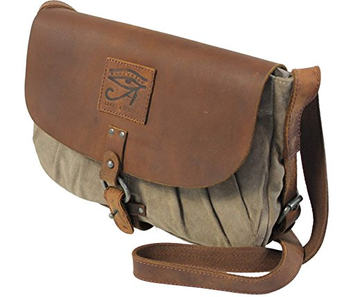 Casual-Flapabag A4 Leder Umhängetasche Schultertasche LandLeder Land's & Leather