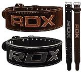 RDX Fitness Musculation Ceinture Cuir de Vachette D'haltérophilie Sudation...