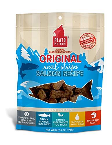 PLATO Original Real Strips Salmon 6oz