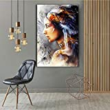 RTCKF 1 Unidades Modern HD Cool Wall Art Pictures para Sala de Estar Native Wing Girl HD Canvas Canvas Paintings Home Decor Poster 60x80CM (sin Marco)