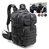 Tactical Backpack for Men Small Black Military Fishing Hiking Travel Survival Bag