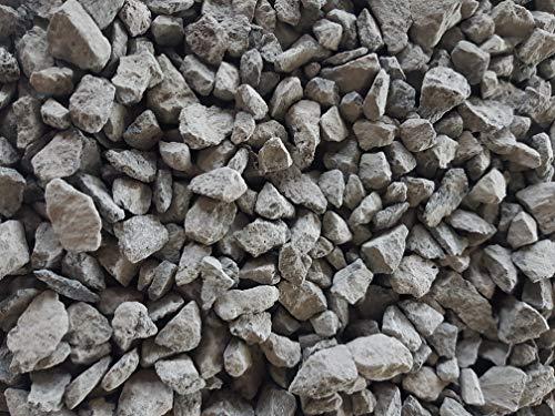 Der Naturstein Garten 75 kg Basaltsplitt 8-16 mm - Basalt Splitt Edelsplitt Lava Lavastein - Lieferung KOSTENLOS