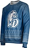 ProSphere Drake University Ugly Holiday Unisex Sweater - Blizzard 9D2D215D Blue and Gray