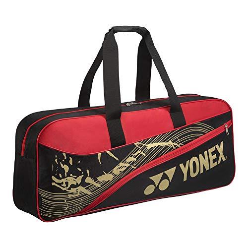 YONEX Team Tournament Tennis Bag (Black/Red)