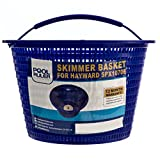 Pool Ruler Skimmer Basket for Hayward SPX1070E &...
