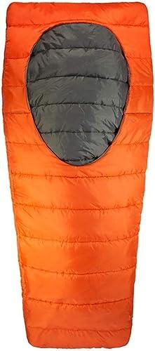 POOU Sac de Couchage en Coton pour Le Camping en Plein air équipement d'alpinisme Sac de Couchage Portable Unique Convient pour Les activités de Voyage, de Camping et de Plein air 2KG