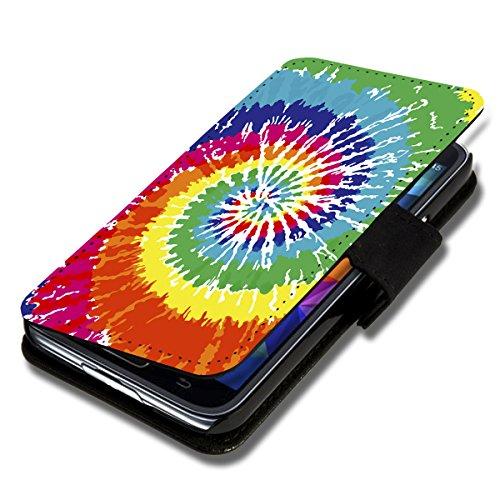 Book Style Flip Handy Tasche Hülle Schutz Hülle Schale Motiv Etui für Wiko Wax - Flip A50 Design12